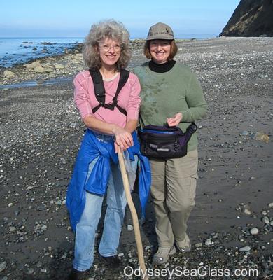 We met Karen and husband Richard (not shown)