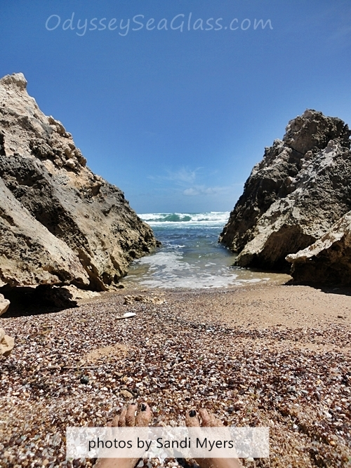 Factory Bay, Robe, Australia Sea Glass Beach