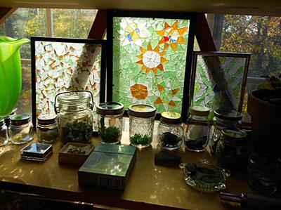 Rocky Point Sea Glass Display