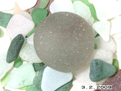 Round Sea Glass