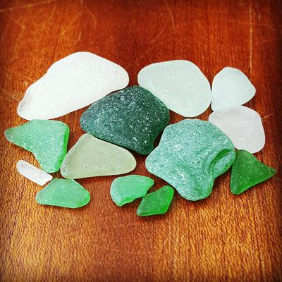 West Sussex - Rustington Beach Sea Glass