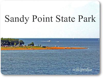 Sandy Point State Park for Sea Glass?