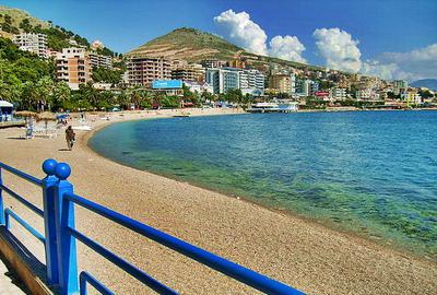 Saranda Albania beachfront promenade