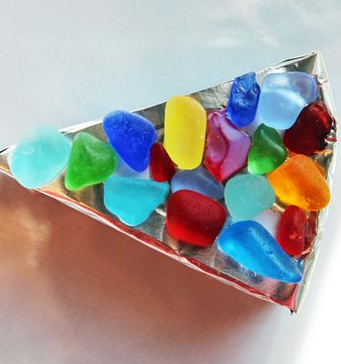 Sea Glass as Gems