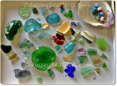 Crystal Cove sea glass