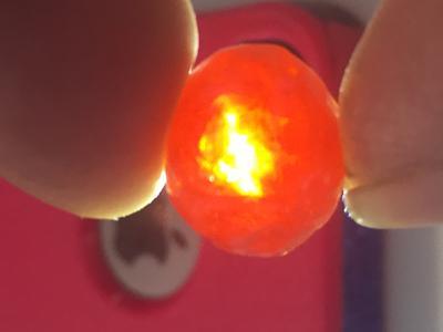 7/9/16 Battery Park Delaware - Rare orange or red marble