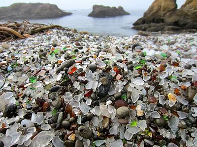 Fort Bragg Glass Beach, CA