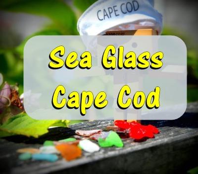 Sea Glass on Cape Cod, Massachusetts