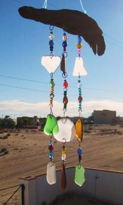 Sea Glass Chimes/Suncatcher