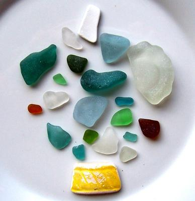 Sea Glass Collection Punta Veleros, Peru