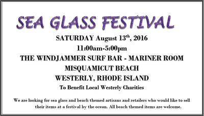 Sea Glass Festival - 2016 Rhode Island