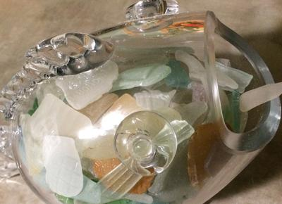 Sea Glass Crafting