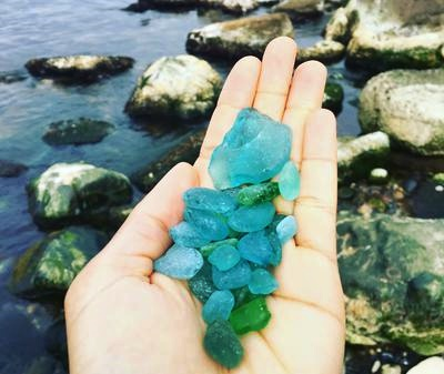 Suzu-shi sea glass