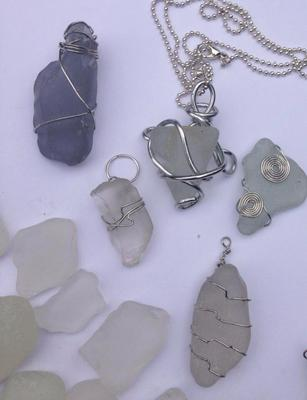 Sea Glass from Burbo Bank, Liverpool, UK...