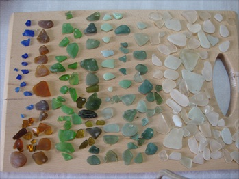 Sea Glass Mediterranean Greece
