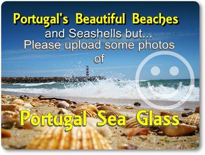 Portugal Sea Glass Beaches Report (need photo)