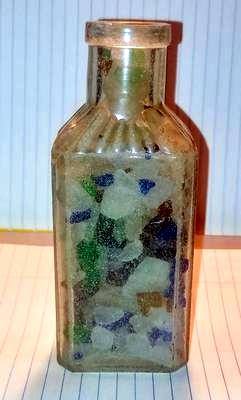 #3 Sea Glass Bottle