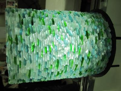 Sea Glass Lamp Shade Japan 2