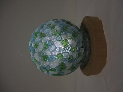 Sea Glass Lamp Shade Japan 4