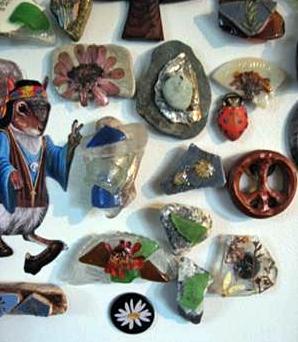 Sea Glass Magnets