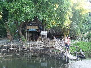 Guesthouse at the beach in Flores Indonesia