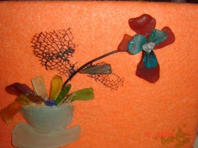 Sea Glass Art Pictures