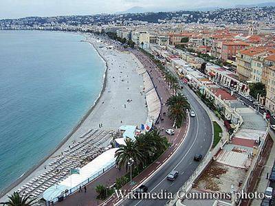Sea Glass Report - Promenade Des Anglais - Nice, France