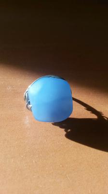 View 1 of sea glass ring
