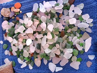Sea Glass Spain Mediterranean