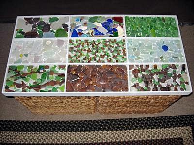 Sea Glass Tabletop