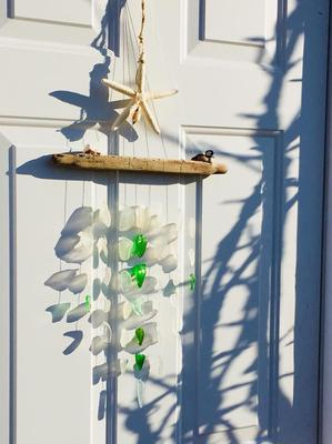 sea glass mobilessea glass mobiles