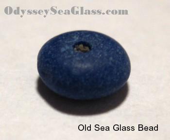 Sea Glass Bead Sea Glass Marble