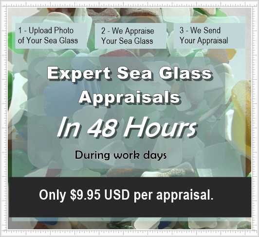 Sea Glass Appraisals, Beach Glass Valuations