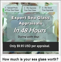 Sea glass appraisals value of your sea glass