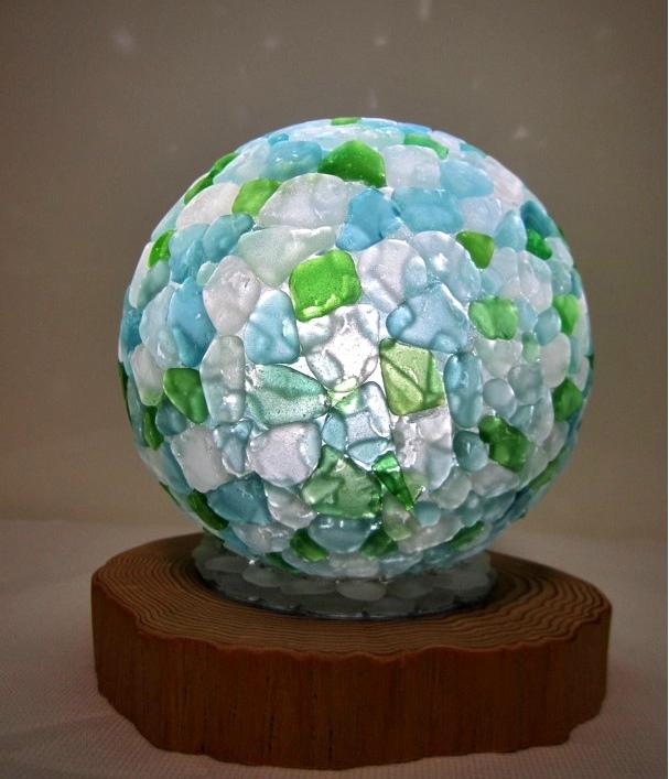 Sea Glass Globe Aki Fujiwara