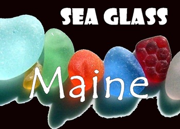 maine sea glass photos and reports