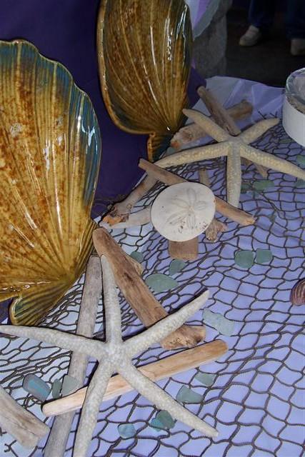The Sea Glass Wedding Decor