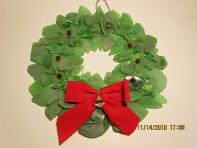 my Christmas wreath