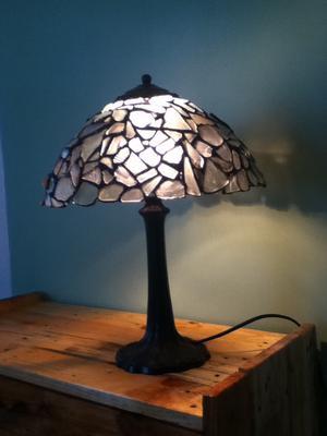 Seaglass lampshade