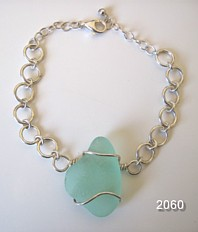 Sea Glass Bracelet Signe