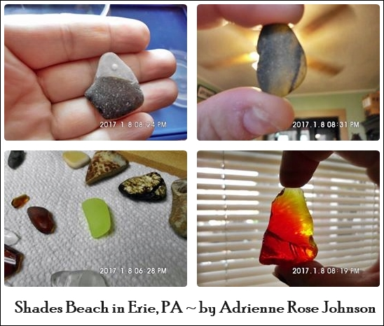 Lake Erie Beach Glass