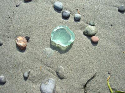 SkyBlue Sea Glass