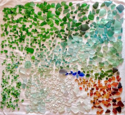 Spain Sea Glass Catch