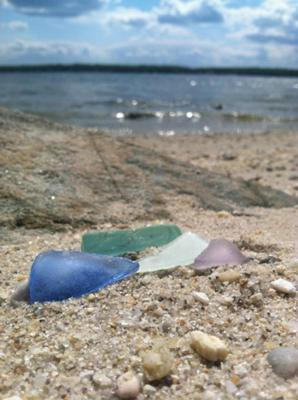 Spring Finds - Spring Pastels Sea Glass Solomon's Island, Maryland