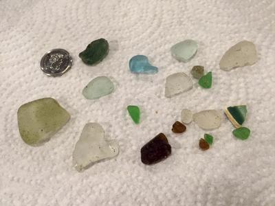 Stage Fort Park, Massachusetts Sea Glass