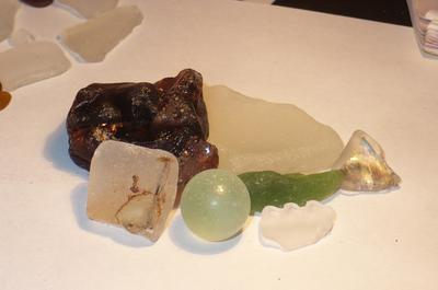 Strange Assortment of Beach Glass
