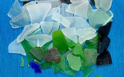 Olympics Sea Glass