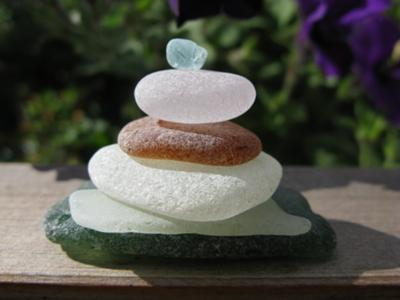 Summer Seaglass Stack