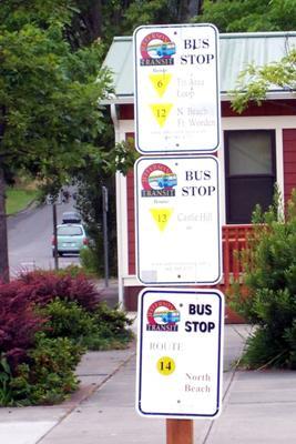 North Beach Bus Stop Port Townsend