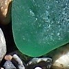 Rare Sea Glass Color - Teal